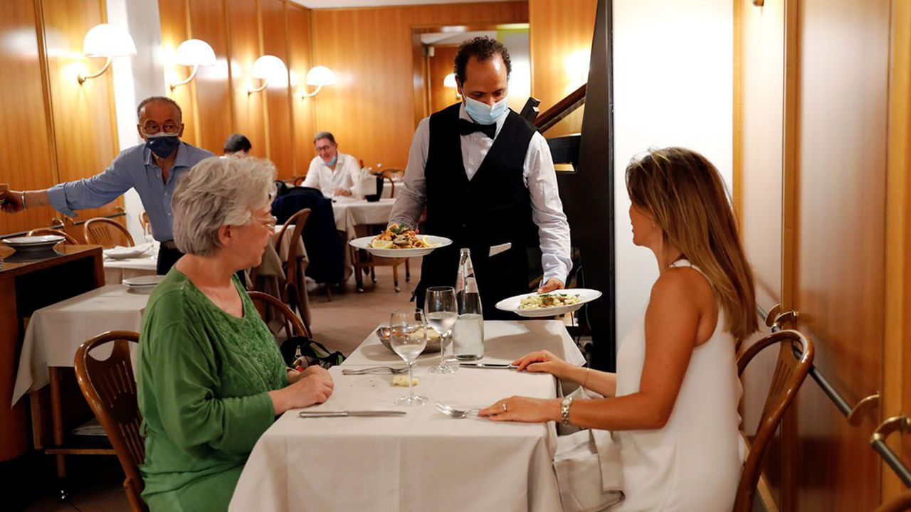 L'Italie imposera à partir du 6août un «green pass» pour accéder aux lieux fermés comme les bars et restaurants.