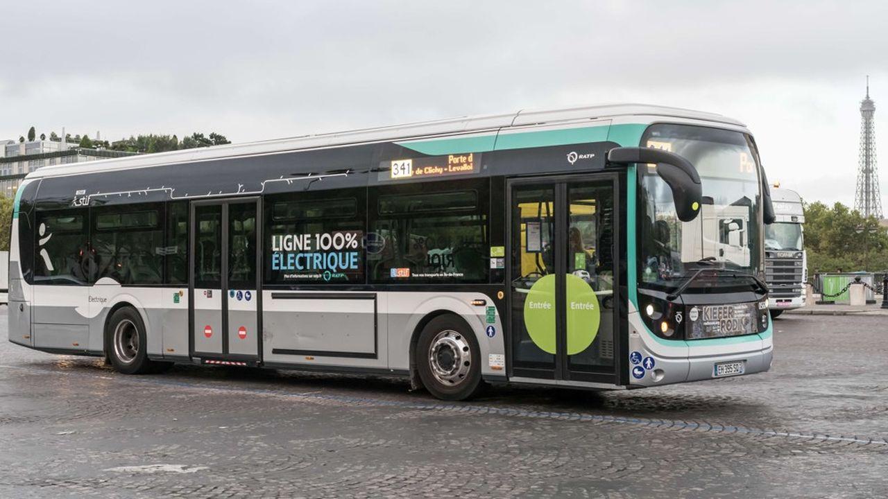 450 bus 100% électriques vont remplacer des bus diesel qui roulent toujours en Île-de-France