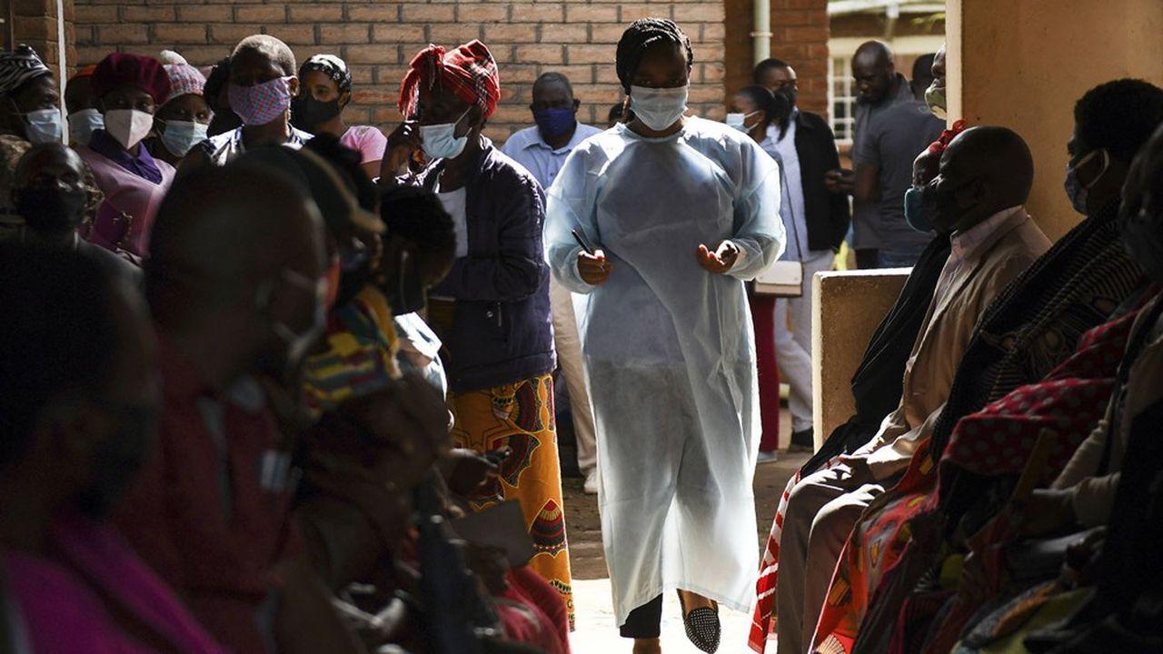 Dans un centre de vaccination contre le Covid-19, à Blantyre, au Malawi, le 29mars dernier.