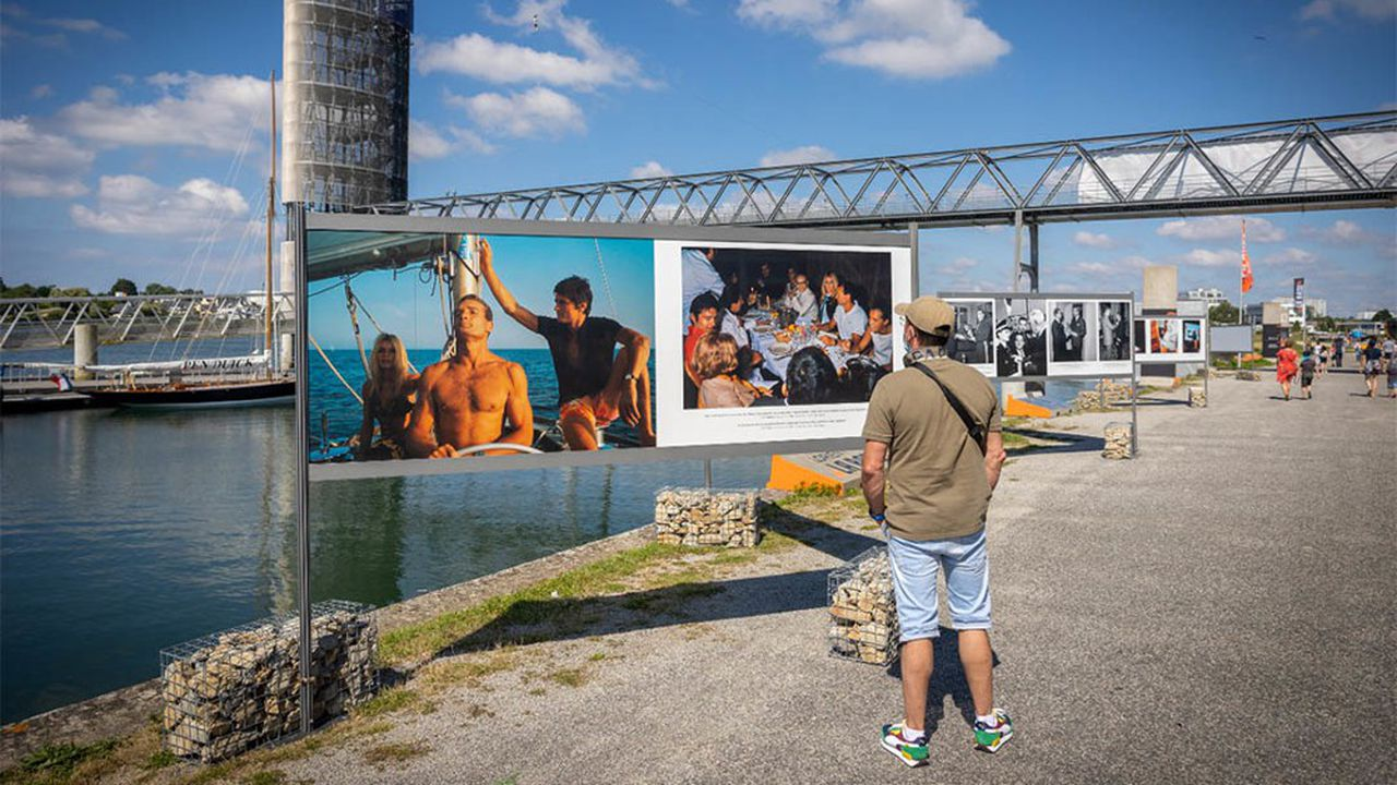 L'exposition intitulée «A Eric» se déroule en plein air, sur les espaces de Lorient La Base.
