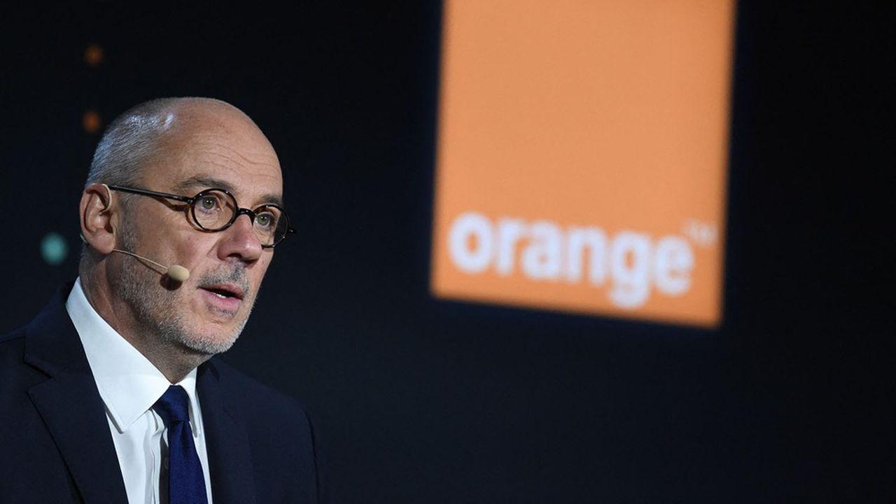 Stéphane Richard, le PDG d'Orange. Le groupe a encaissé une perte nette au premier semestre en raison de ses difficultés en Espagne.