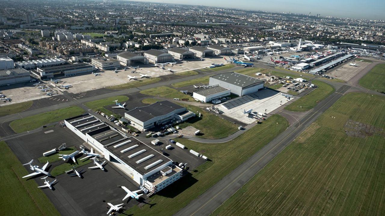 Le Parc des Expositions du Bourget, qui accueille notamment le salon de l'aéronautique, sera rénové