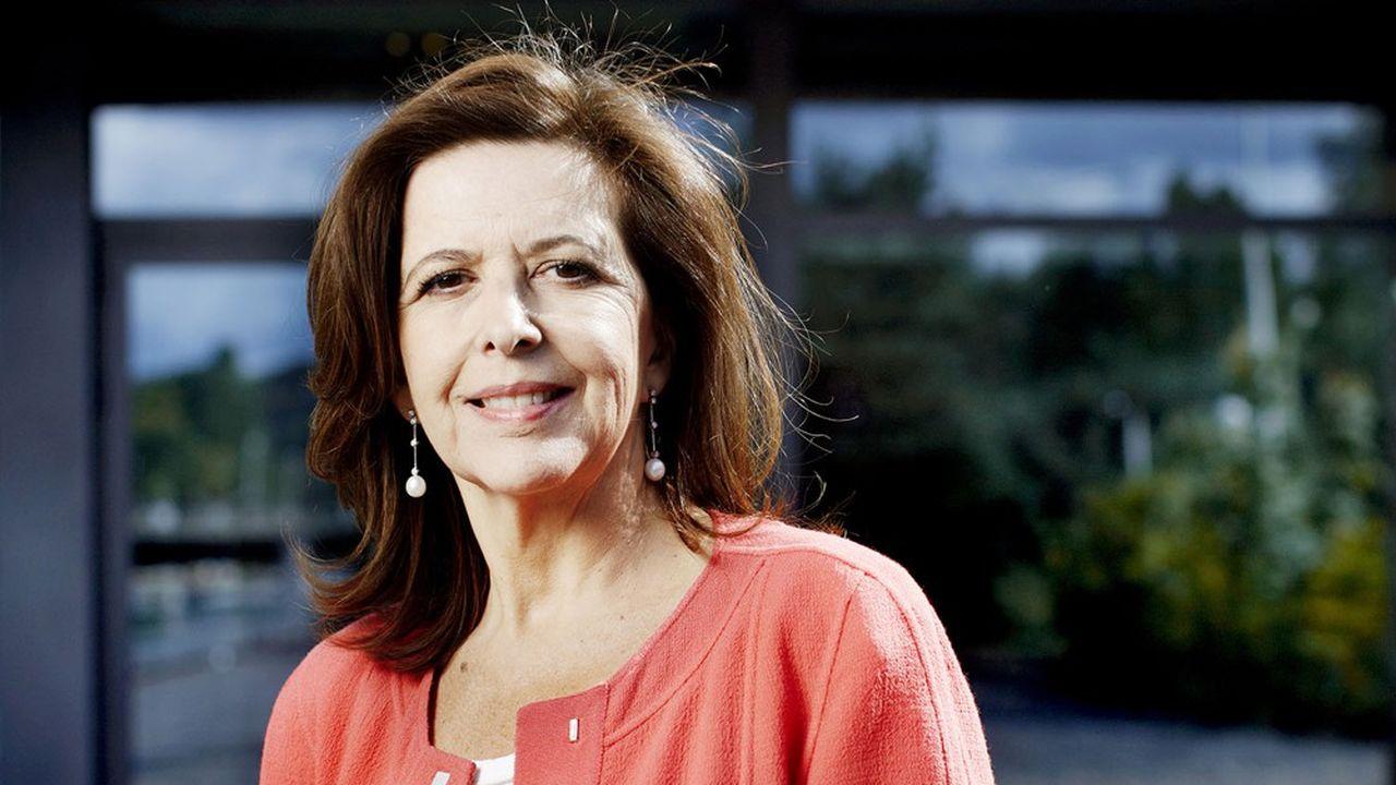 Sophie Bellon est présidente du conseil d'administration de Sodexo.