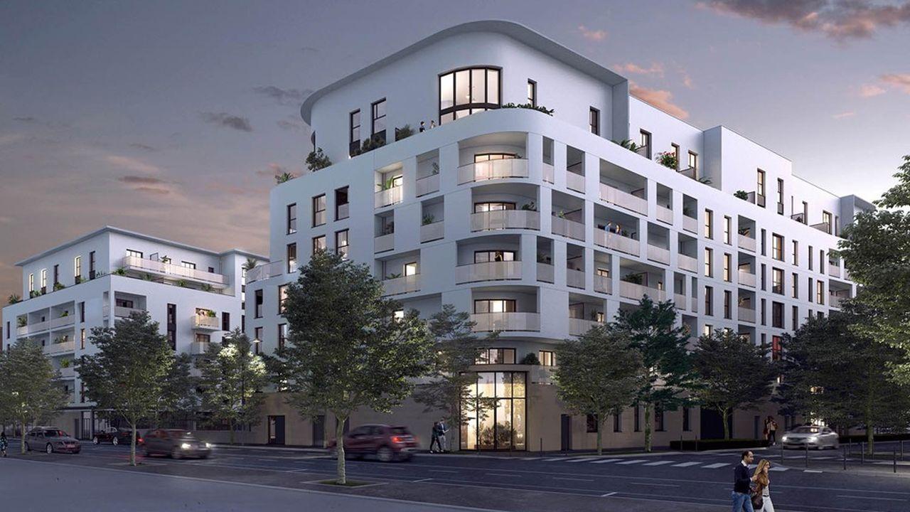 Plus de 1.500 nouveaux logements verront le jour à l'issue des deux requalifications à l'Est de la ville.