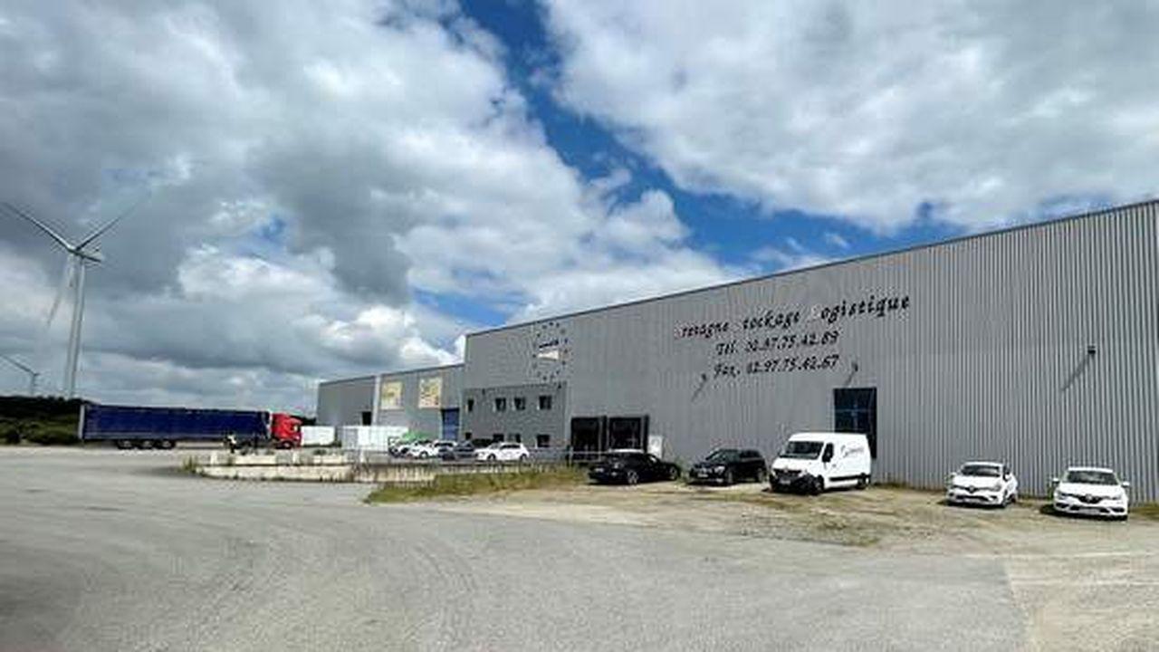Bretagne Stockage Logistique dispose d'un bâtiment d'une surface de 5.600 m².
