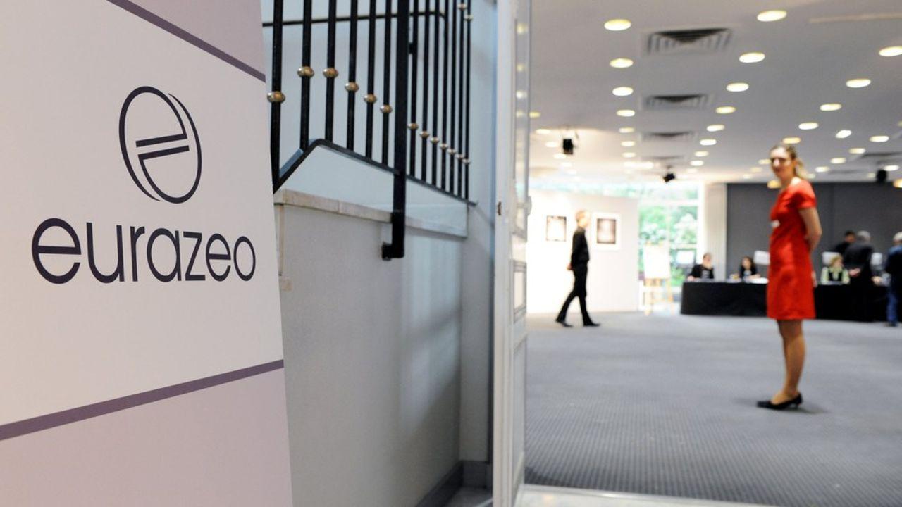 Le cours de Bourse d'Eurazeo a atteint son plus haut niveau historique à81,5 euros, valorisant la société d'investissement 6,4milliards d'euros.
