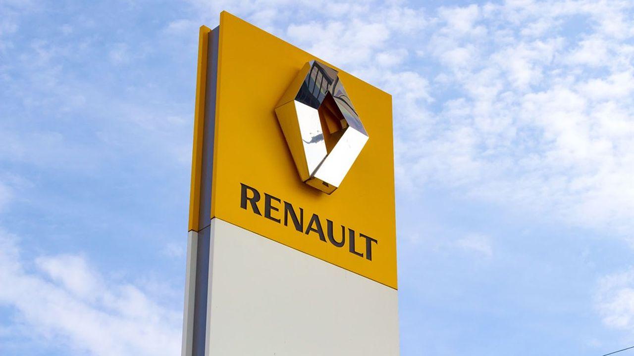 Renault a vu son chiffre d'affaires progresser de 26,8% sur un an au premier semestre.