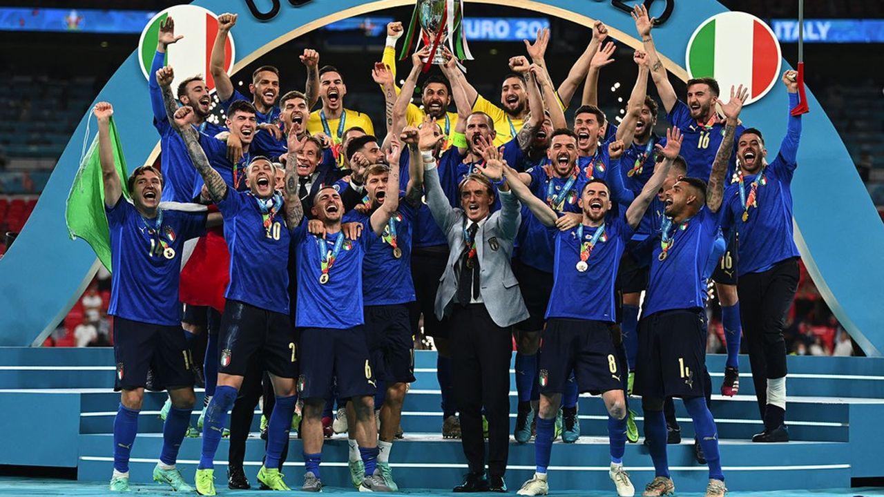 La récente victoire de l'Italie, équipée par Puma, lors du dernier Euro de foot, illustre une période faste pour le groupe allemand.