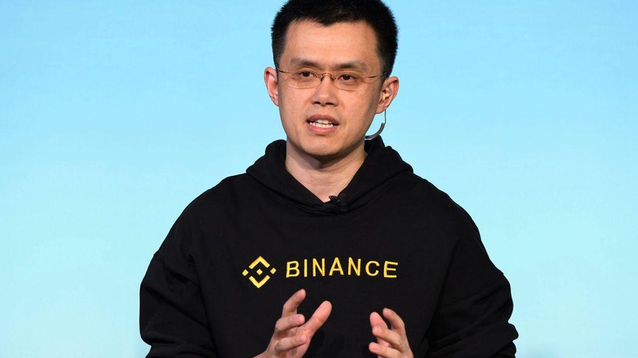 Changpeng Zhao, le directeur général de Binance, la plateforme leader mondiale sur les cryptos.