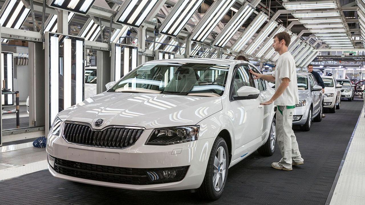 L'usine de Škoda à Mladá Boleslav, en République tchèque, bénéficie de coûts de production avantageux.