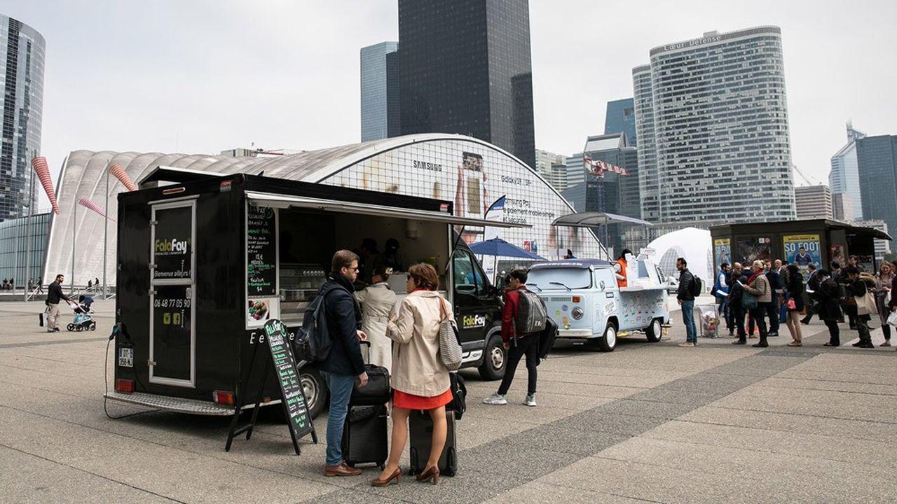 Le planning des foodtrucks est la page la plus consultée du site Paris La Defense.