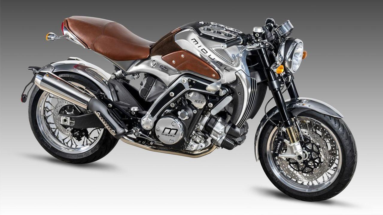 La moto française Midual dans sa nouvelle usine