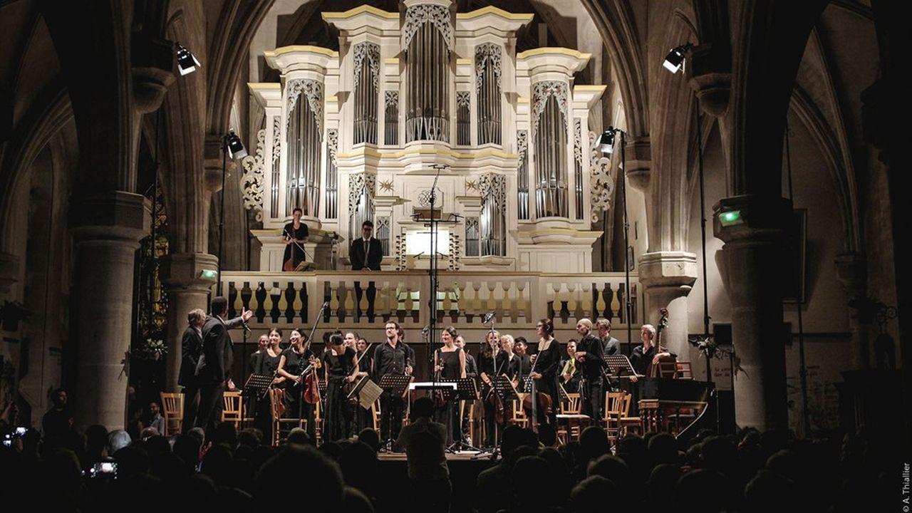 En 2019, le festival fêtait ses vingt ans devant l'orgue à la sonorité inimitable de l'église de Pontaumur.