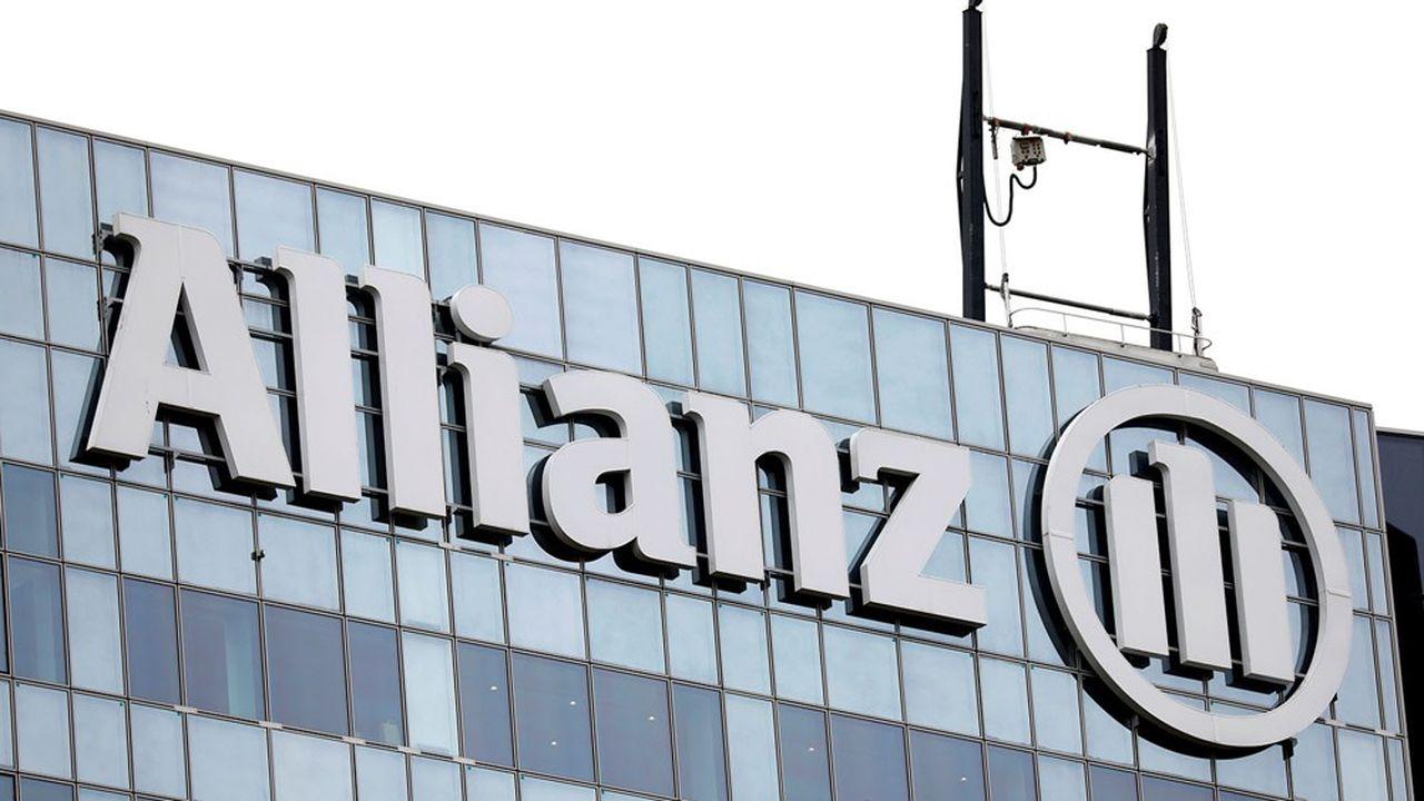 Le titre Allianz dévissait à la Bourse de Francfort lundi