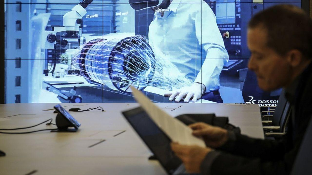 Contrairement à l'an dernier, la suite de logiciels Solidworks - destinée aux PME industrielles - tient son rôle de moteur pour le groupe.