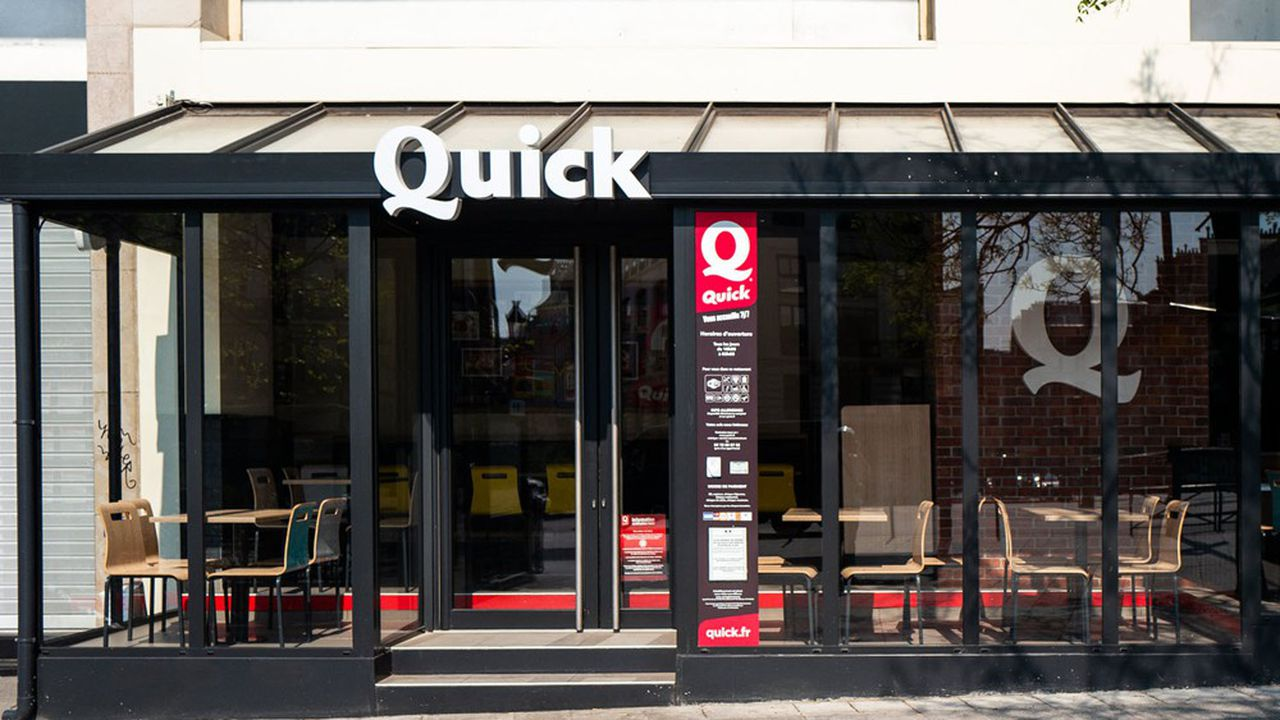 HIG, le repreneur de Quick, compte doubler son réseau «dans les prochaines années», ce qui signifie dépasser la barre des 200 unités.