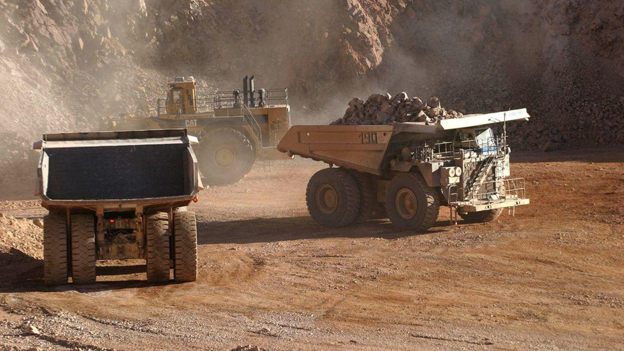 La mine d'Escondida, au nord du désert d'Atacama représente à elle seule près de 5% de l'offre mondiale de cuivre.