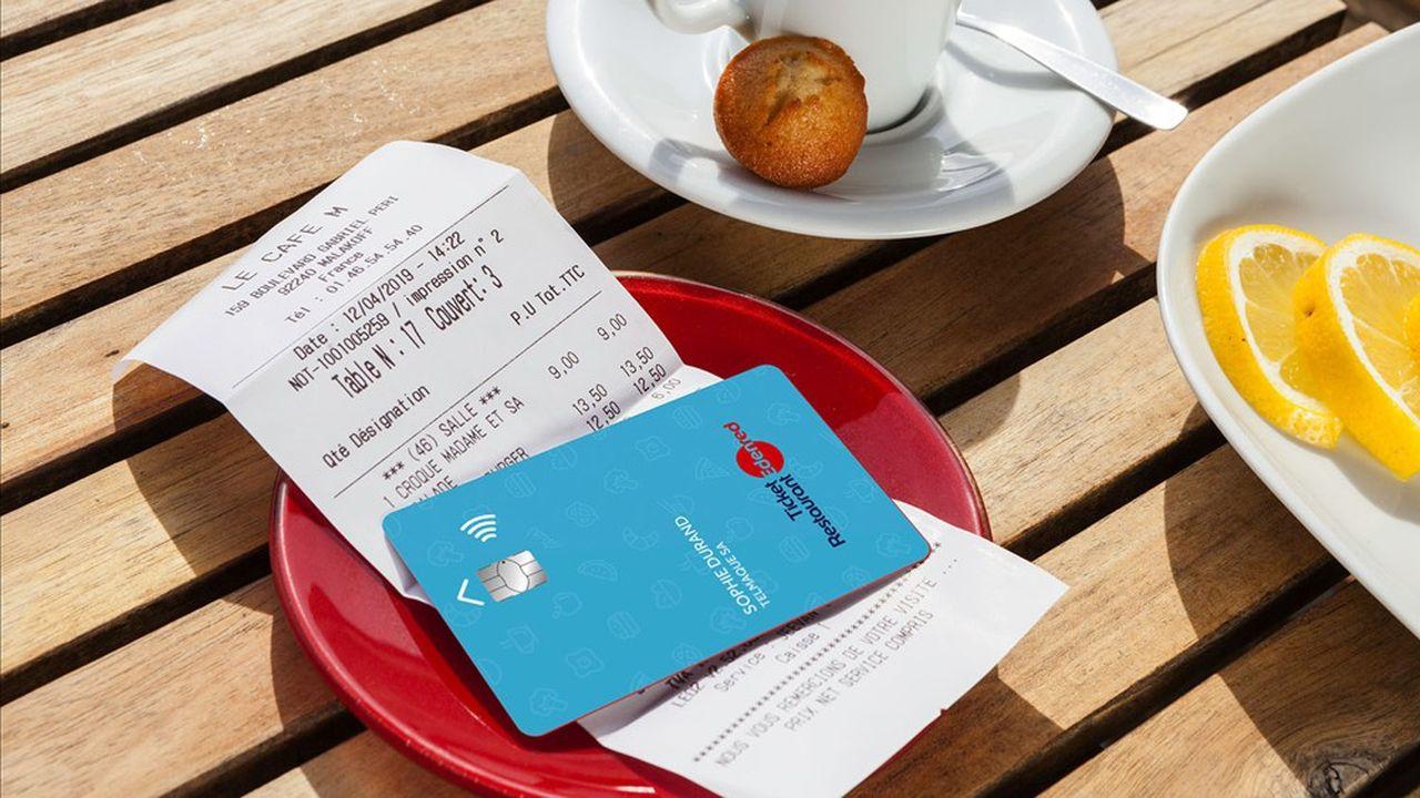 Des titres papiers aux cartes et applications smartphone, les titres-restaurant représentent 50% de l'activité d'Edenred.