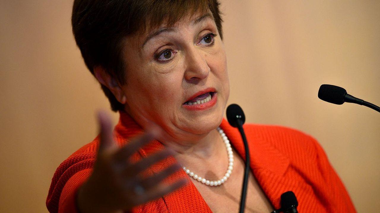 La directrice du Fonds monétaire international, Kristalina Georgieva.