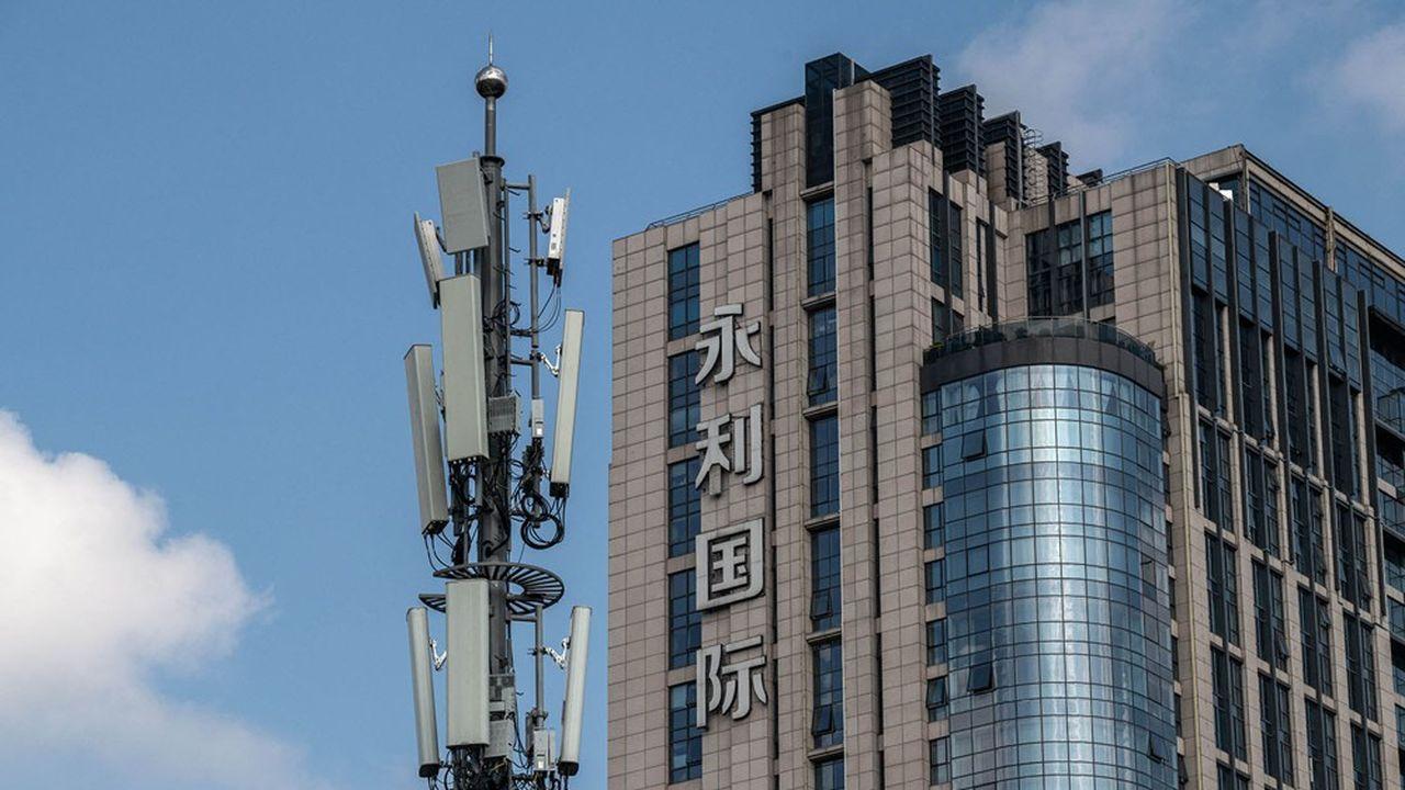 En Chine, Ericsson a vu sa part de marché chuter de 11% à 1,9% en un an.