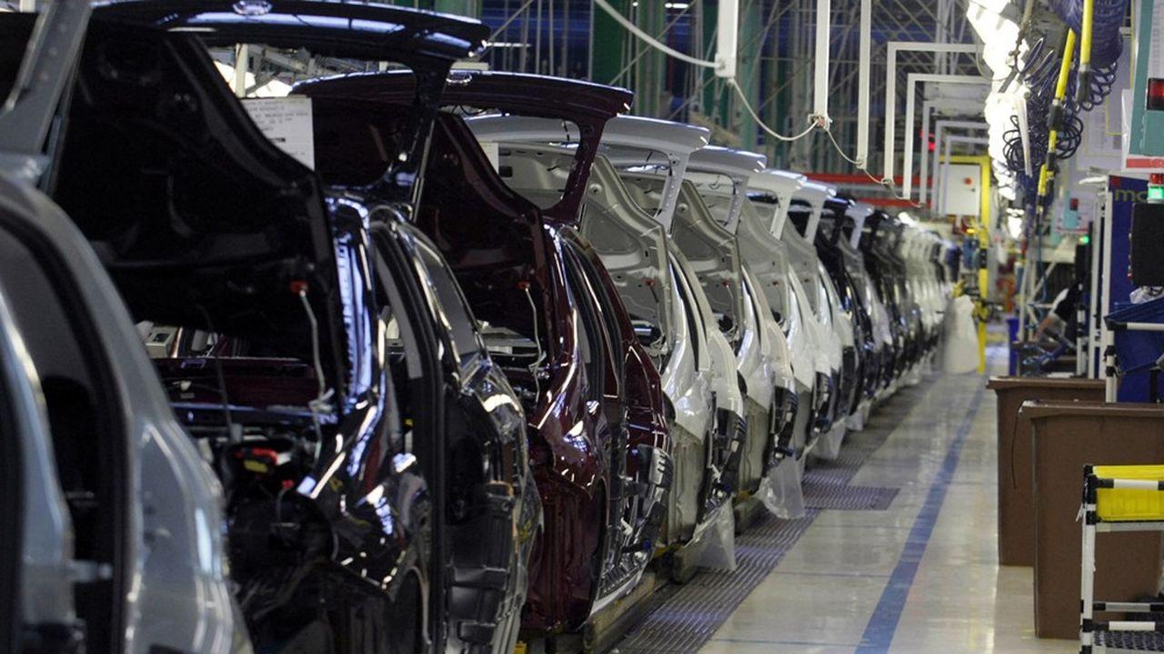 L'usine de Melfi, dans le sud de l'Italie, a une capacité de production de 400.000véhicules par an.