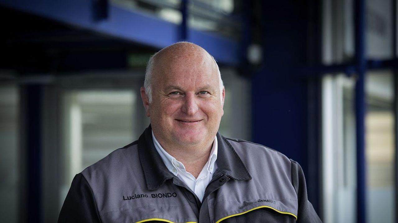 Arrivé chez Renault en septembre2020, Luciano Biondo a dirigé l'usine de Toyota à Valenciennes pendant sept ans, après avoir dirigé les sites de PSA à Mulhouse et à Trnava, en Slovaquie.
