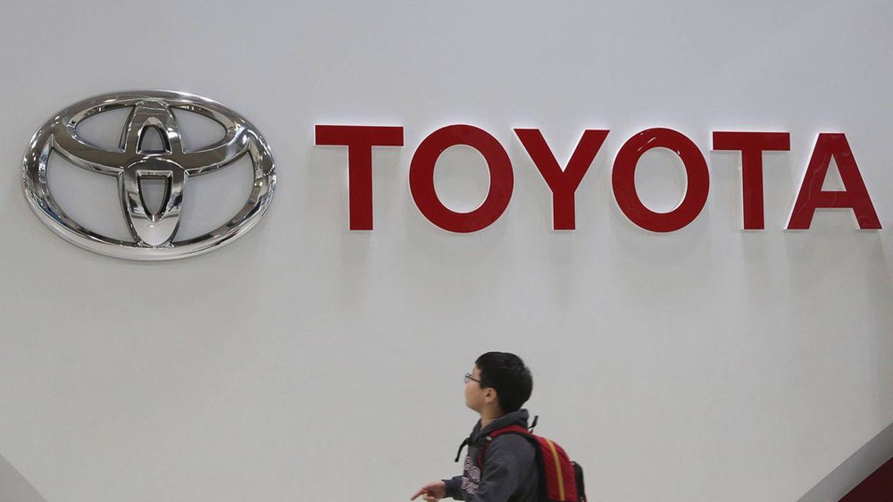 Les ventes trimestrielles de Toyota ont bondi de 72,5% sur un an.