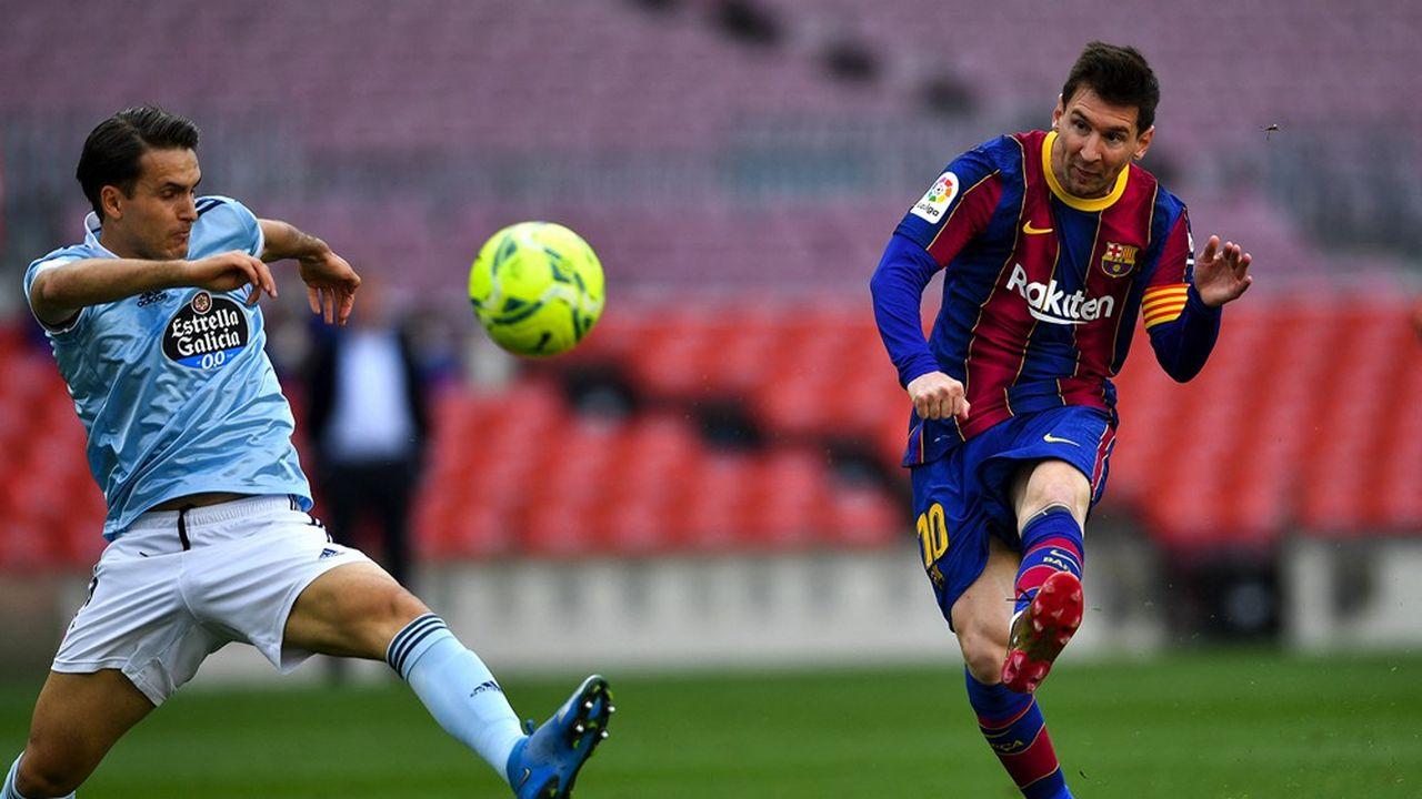 La Liga, organisatrice du championnat espagnol de football auquel participe notamment le FC Barcelone, lève 2,7milliards d'euros auprès du fonds CVC.