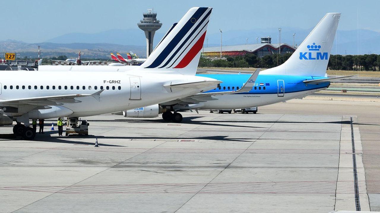 Air France et KLM ont fortement réduit leurs pertes au deuxième trimestre.