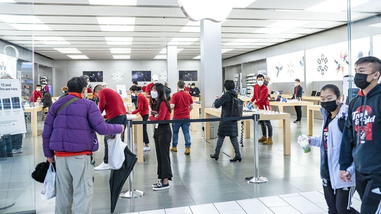 Au Canada, il sera possible de régler en 12 ou 24 mois l'achat d'un produit Apple, que ce soit en ligne ou en magasin.
