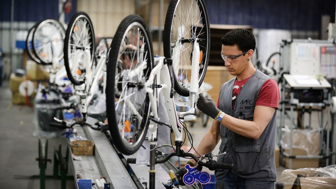 La Manufacture française du cycle est l'un des quelques assembleurs significatifs basés en France.