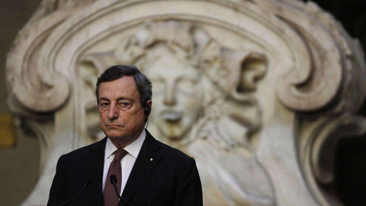 Le gouvernement de Mario Draghi, l'ancien président de la Banque centrale européenne, ne veut pas brader la banque.