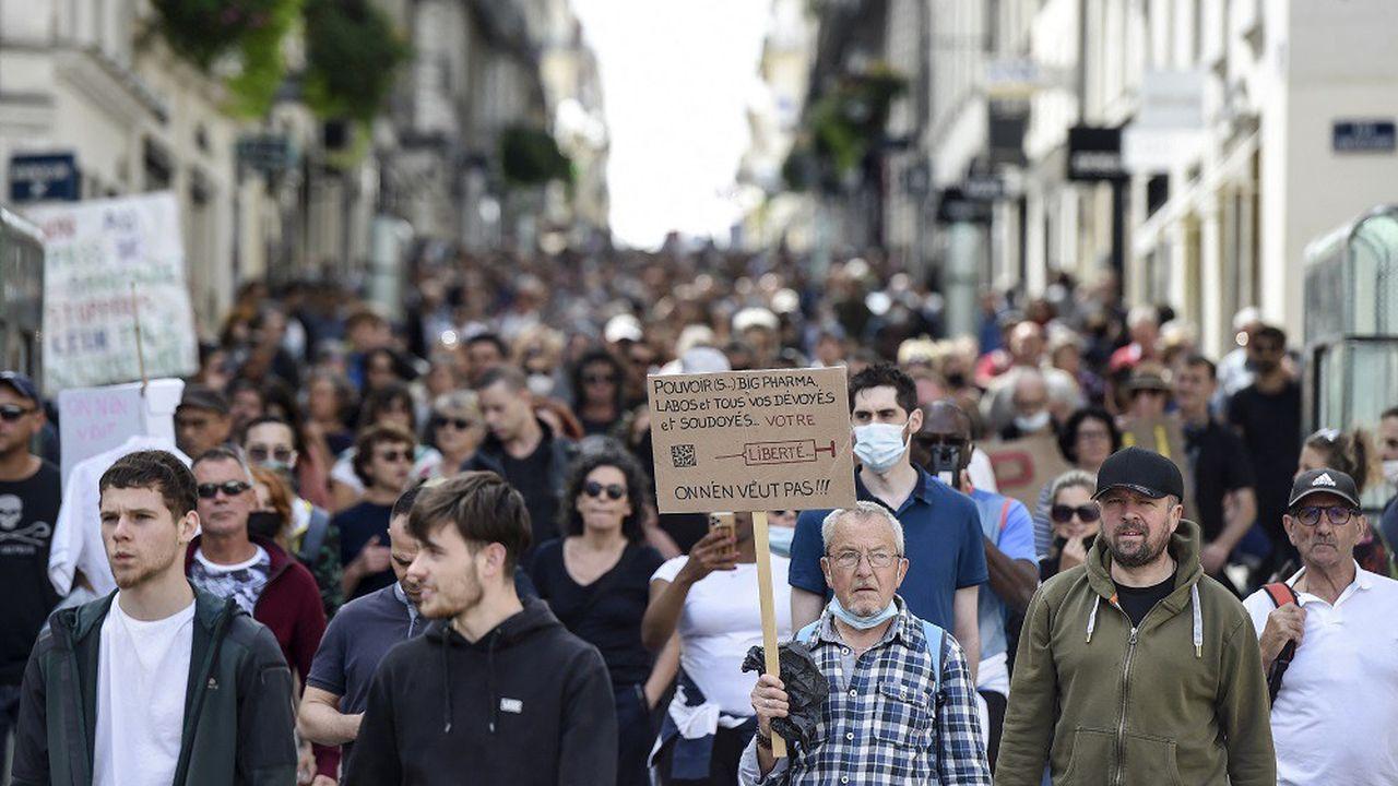 Plus de 5.000 personnes ont défilé ce samedi à Nantes.
