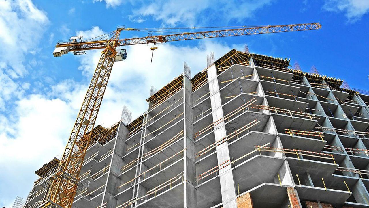 376.700 logements ont été mis en chantier en France en 2020.