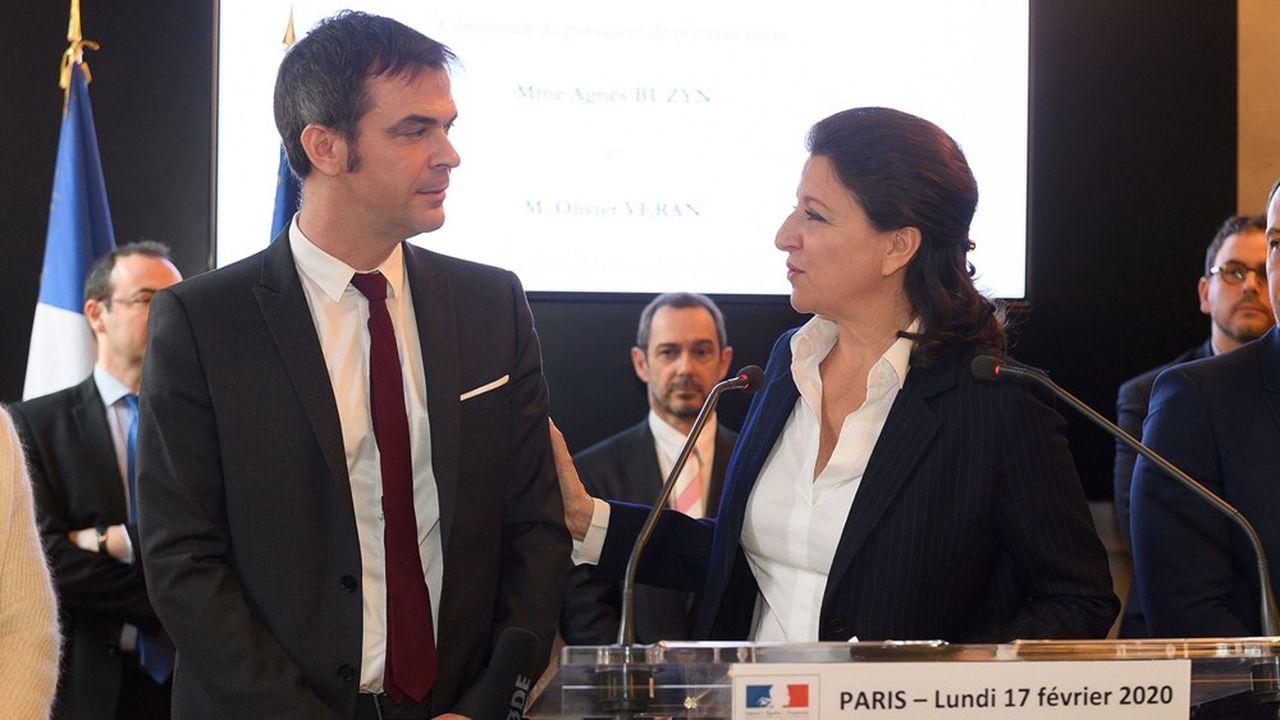 Deux ministres de la Santé se sont succédés depuis 2017, Agnès Buzyn, puis Olivier Véran qui a dû gérer l'épidémie.