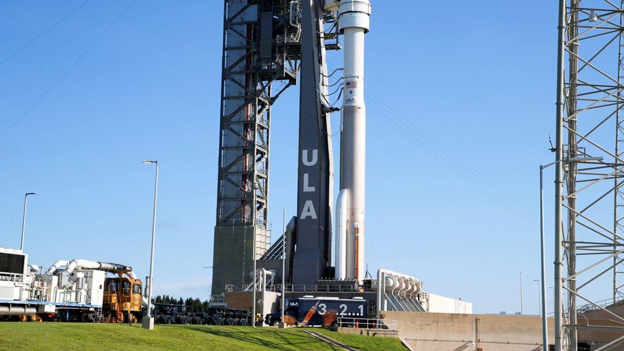 La fusée Atlas V, qui doit propulser la capsule Starliner.