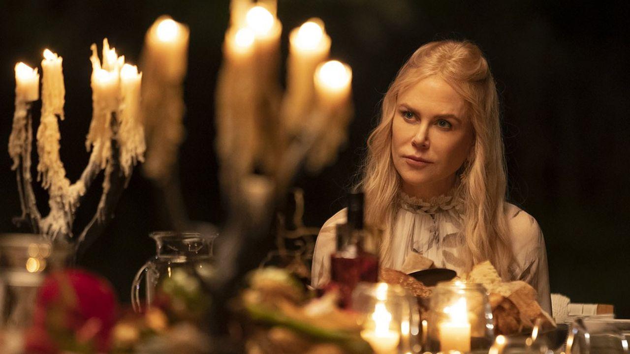 Nicole Kidman en ex-CEO reconvertie en gourou du développement personnel, dans la série de David E. Kelley «Nine Perfect Strangers».