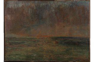 «Après l'orage», 1880, l'un des trésors du Mu.ZEE d'Ostende, par James Ensor, l'illustre peintre de la station balnéaire belge.