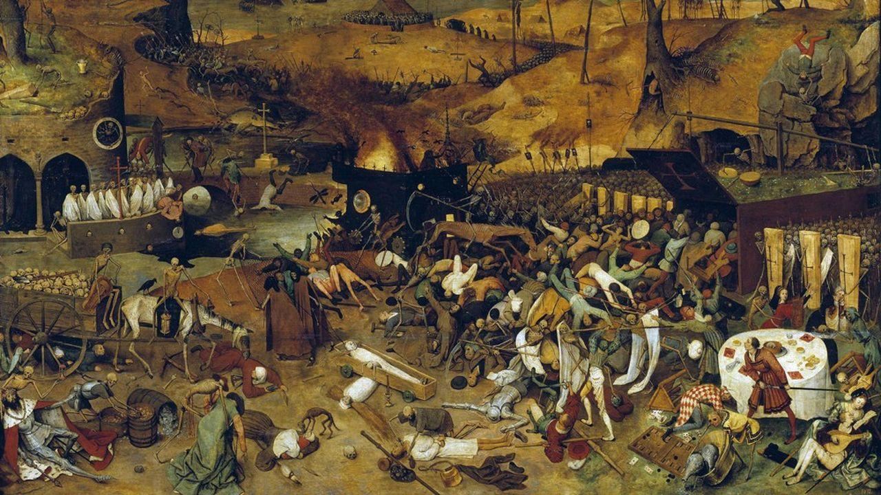 «Le Triomphe de la mort», de Brueghel l'Ancien (1525-1569)