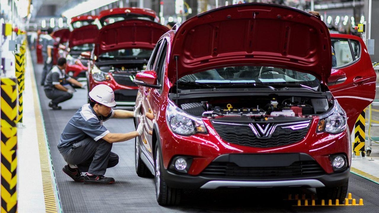 Ayant démarré par la production de voitures thermique dans son usine de Haiphong, le vietnamien VinFast a vendu environ 30.000 véhicules (y compris des scooters électriques) en 2020.