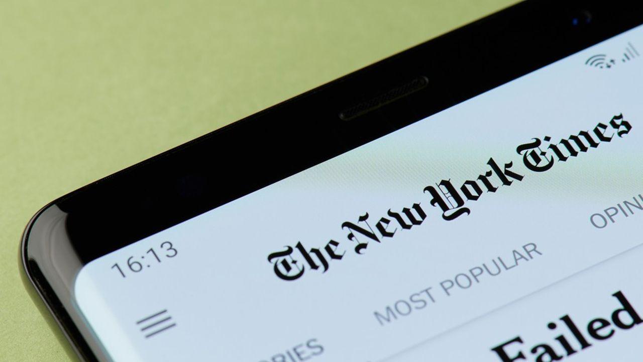 Le rebond post-Covid des revenus publicitaires est très net entre avril et juin pour le «New York Times» tout comme pour son concurrent le «Wall Street Journal».
