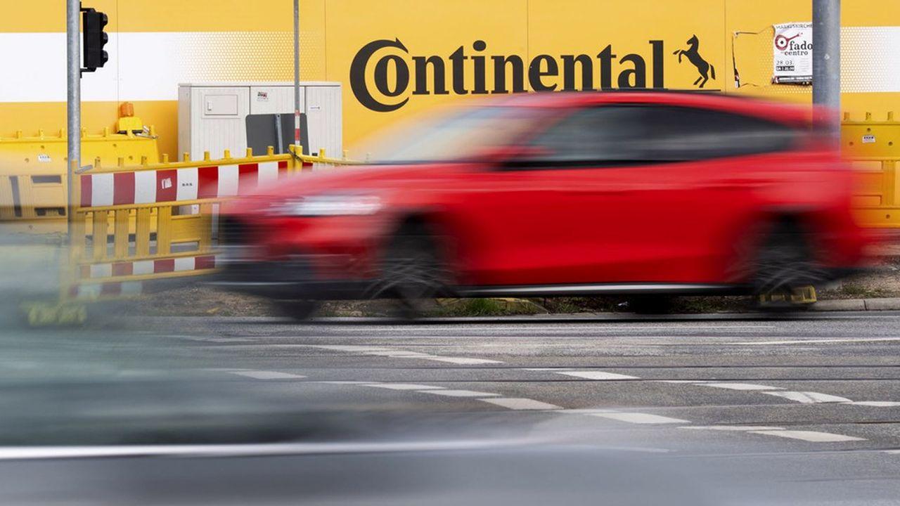 Malgré ses difficultés actuelles, Continental est l'un des équipementiers qui a amorcé le plus tôt le virage vers l'électrique.