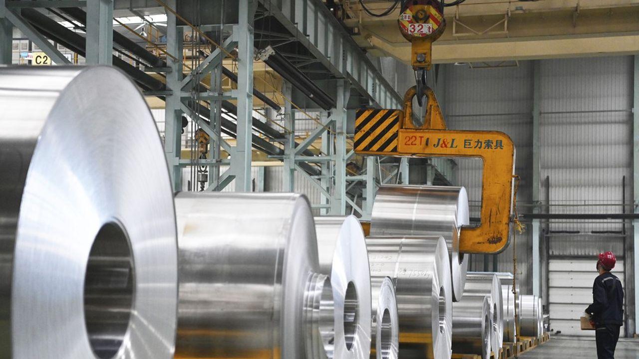 Le secteur de l'aluminium consomme 6,7% de l'électricité en Chine.