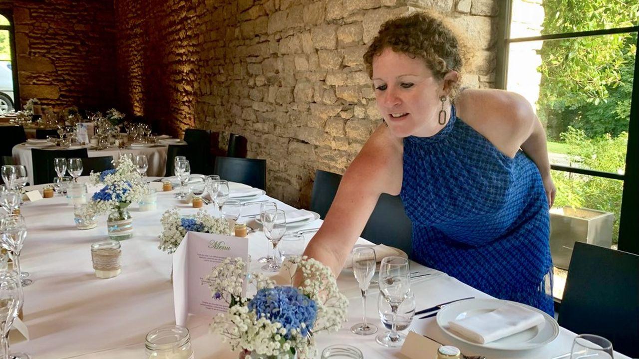 Stéphanie Cazes espère devenir wedding planner à temps complet à partir de 2022.