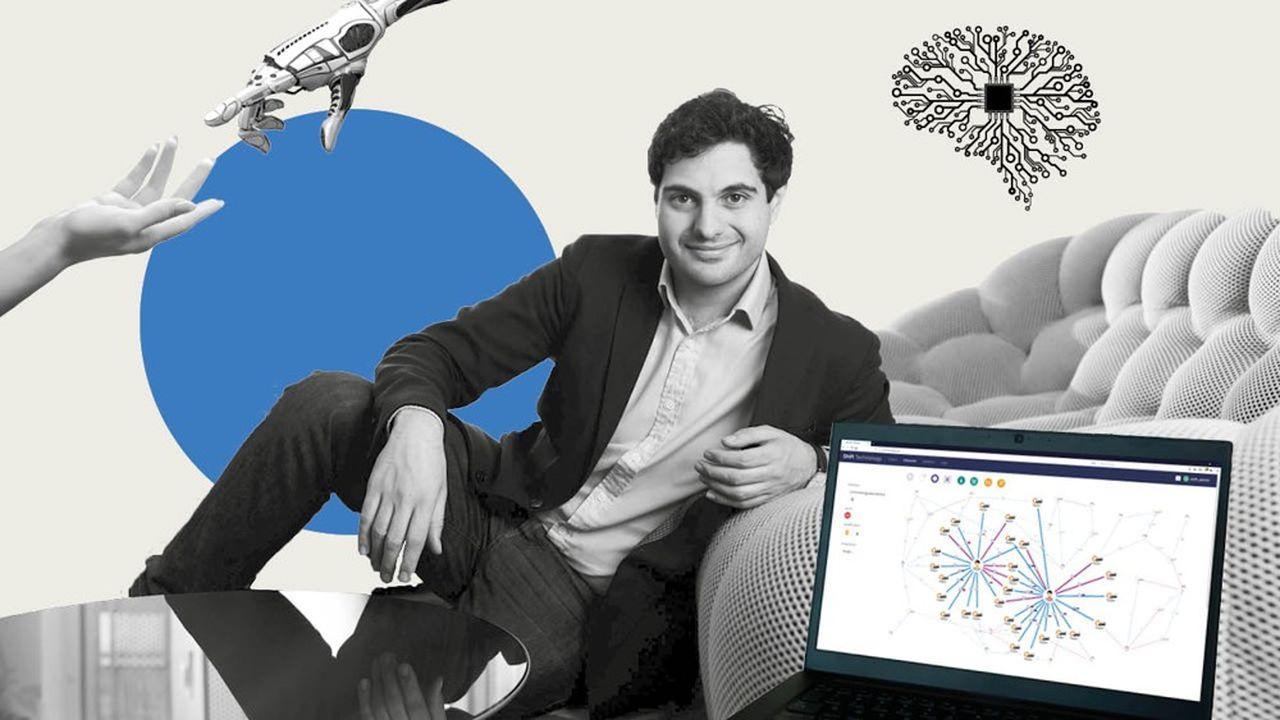 Jeremy Jawish, PDG de la start up Shift Technology.