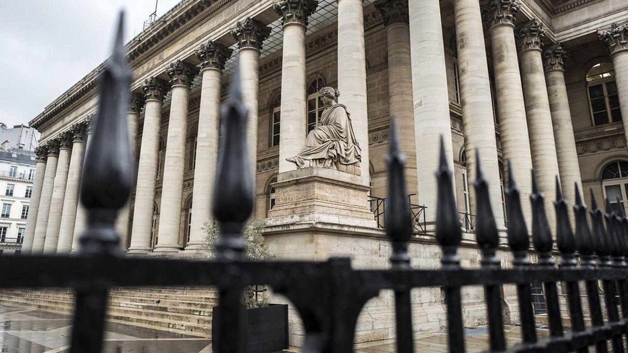 Palais Brongniart, ancienne Bourse de Paris