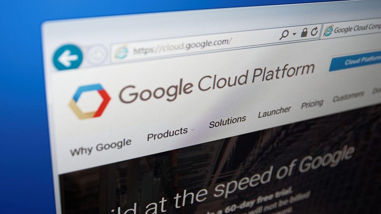 Google, avec environ 4milliards de dollars de recettes liées au cloud (hors ses logiciels en ligne Workspace), a vu ce chiffre progresser de 53% sur le trimestre écoulé, contre +43% au printemps 2020.
