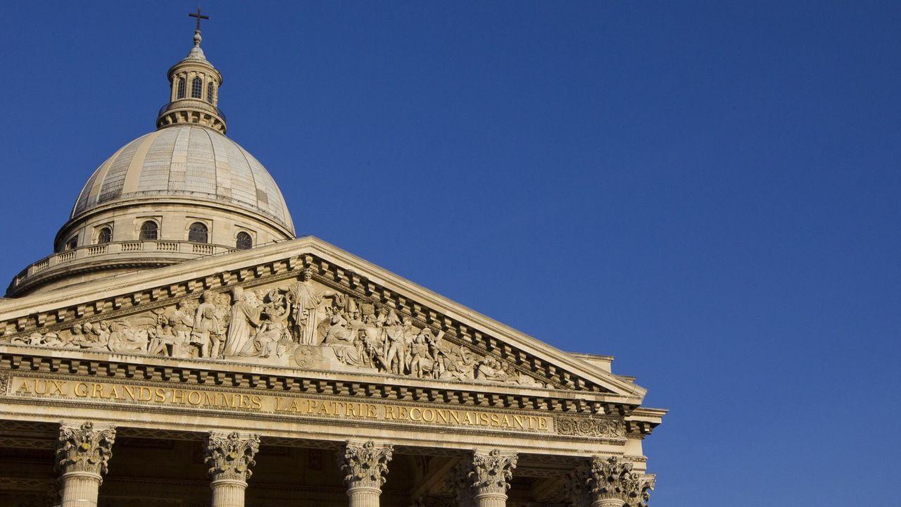 Les grandes figures du Panthéon en photos