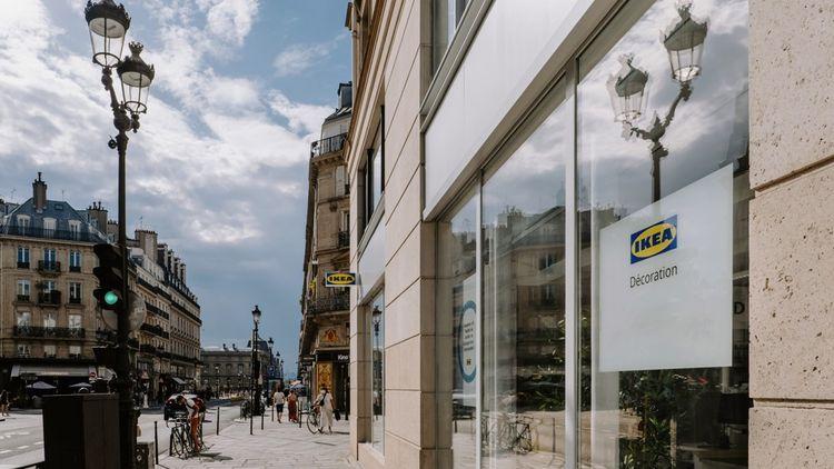 Le 23juin dernier, Ikea a ouvert son premier magasin dédié à la décoration au 144 rue de Rivoli à Paris.