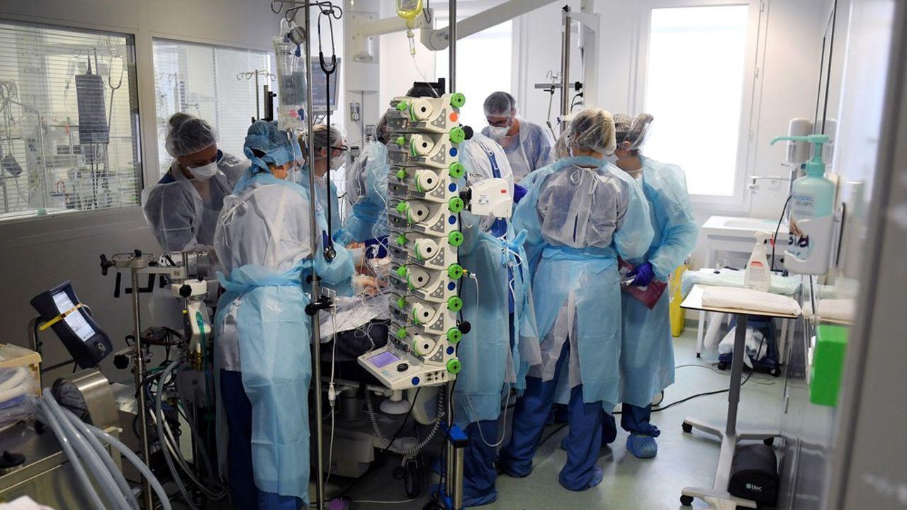 Sur les 67 patients en réanimation Covid à l'AP-HM, 89% n'ont pas été vaccinés.